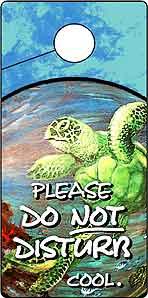 Do Not Disturb DOOR HANGERS: